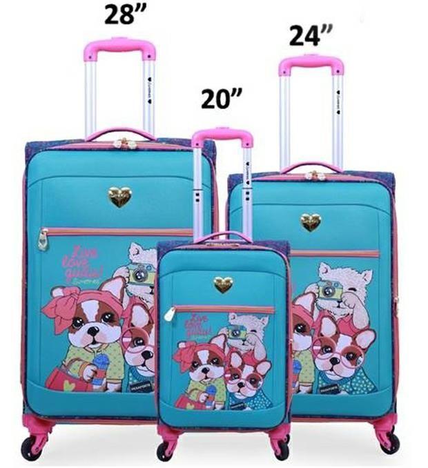 Set valijas SIMONES linea soft x3u