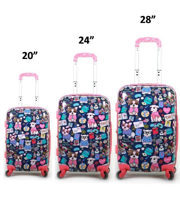 Set valijas línea hard x3u