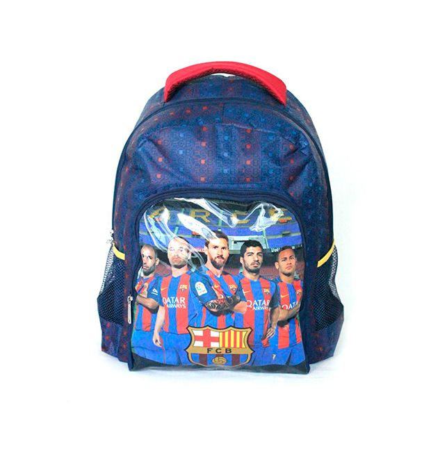 Mochila escolar de espalda 17 pulg Barcelona Team x1u