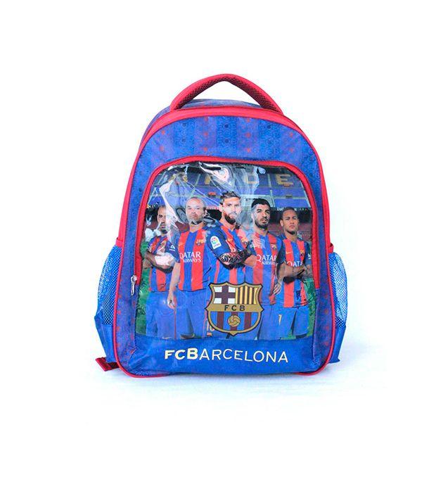 Mochila escolar de espalda 16 pulg Barcelona Team x1u
