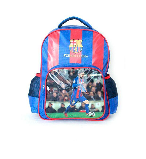 Mochila escolar de espalda 17 pulg Barcelona Running x1u
