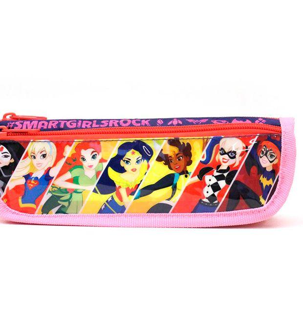 Cartuchera 2 cierres  DC Super Hero x1u