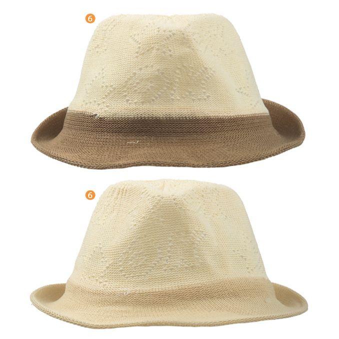 Sombrero bombin infantil bicolor x1u