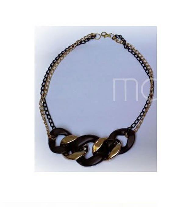 Colgante cadena plastico  x1u