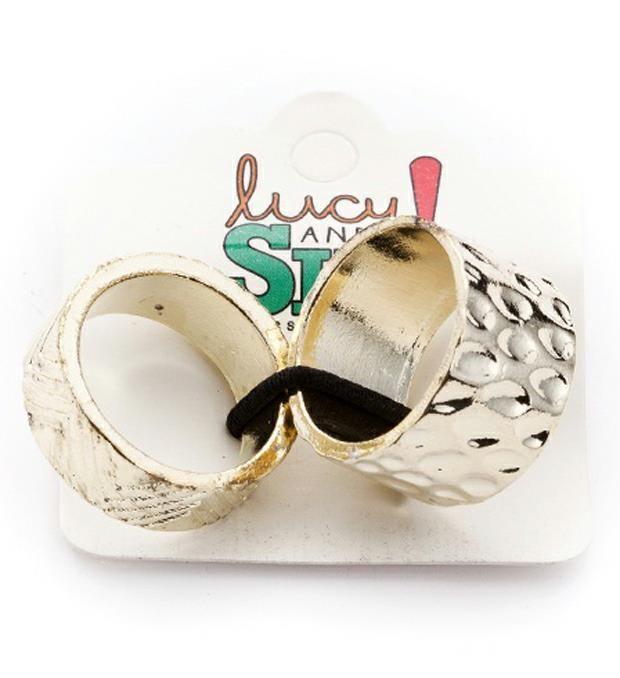 Set anillos incaico x2u