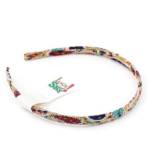 Vinchas paisley multicolor x1u