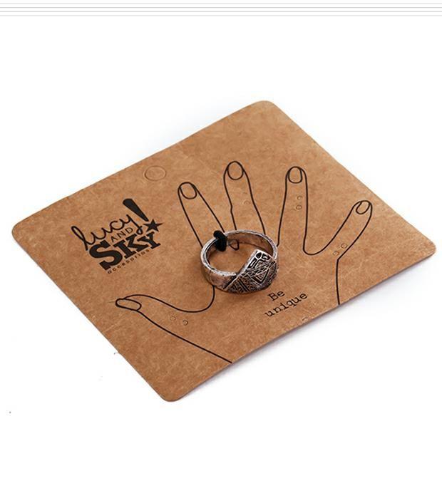 Set anillos liso-falange x2u