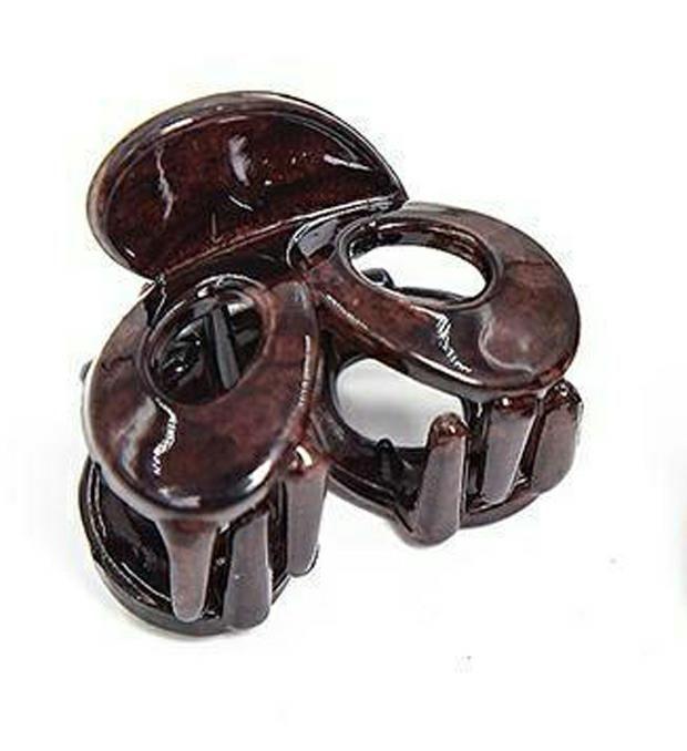 Set Broche marmolado círculos x6u