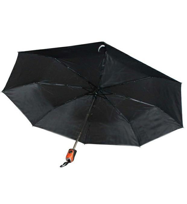 Paraguas mini duomatic mango goma liso x1u