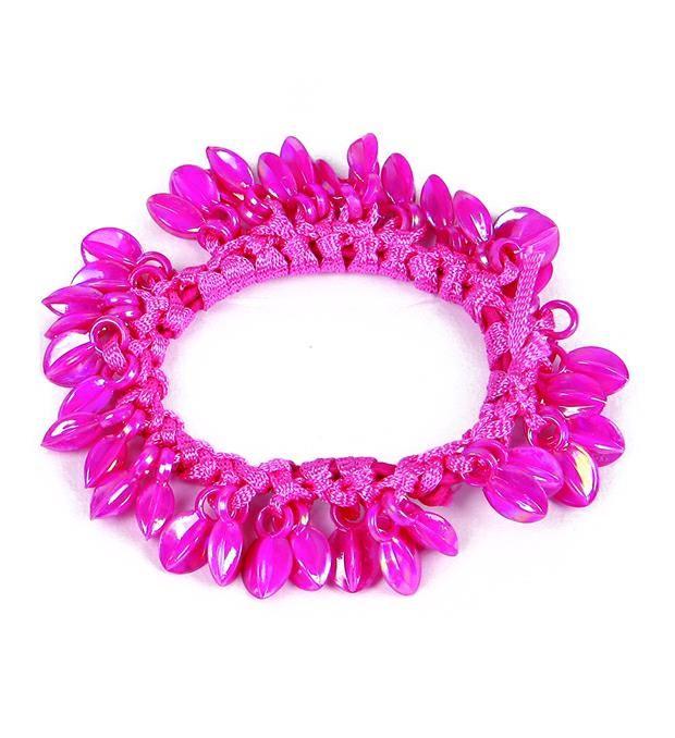 Gomita elástica rosada multidije x1u