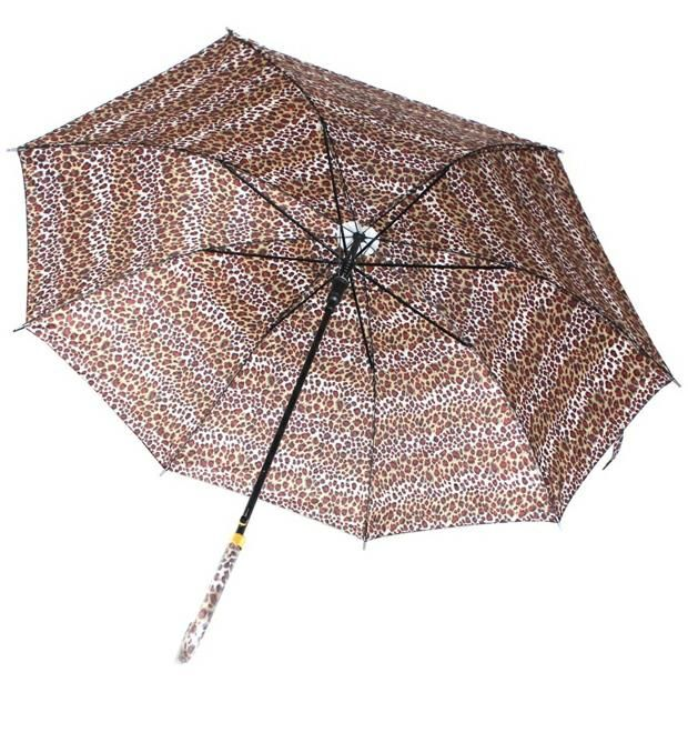 Paraguas largo animal print. x1u