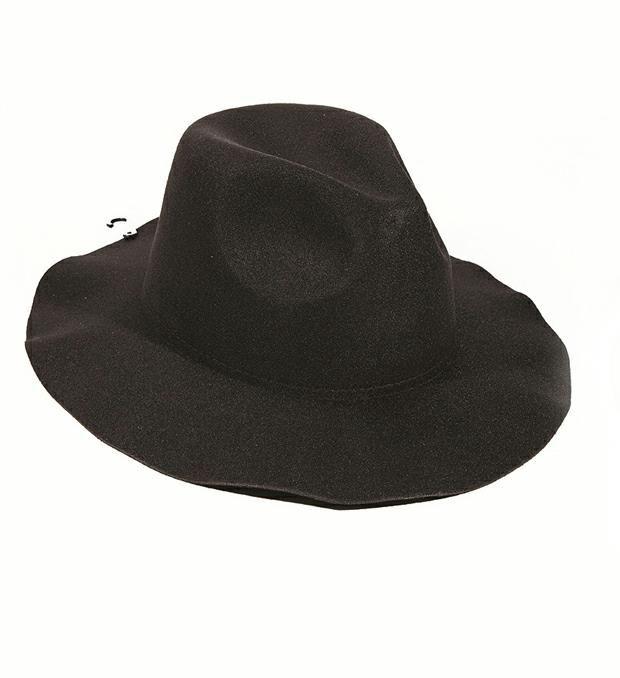 Sombrero fieltro rigído x1u