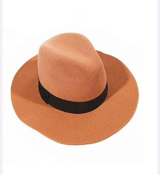 Sombrero fieltro con cintas gross x1u