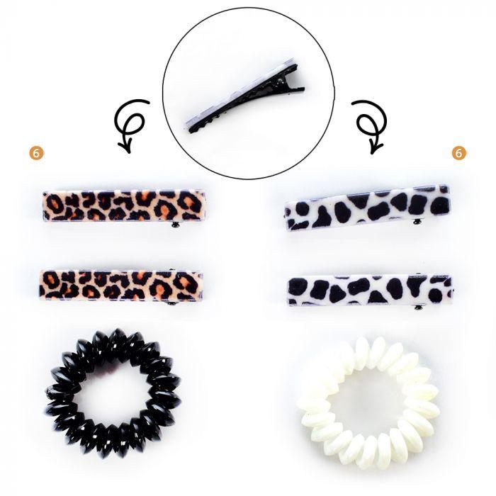 Set pelo en blister: Pico print x2 y cable x1 x1u