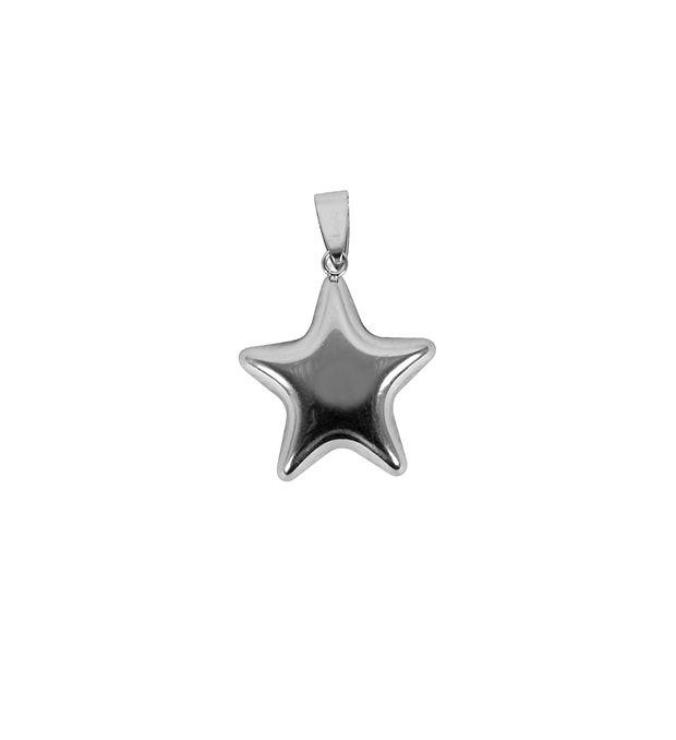 Dije estrella 25 mm x1u