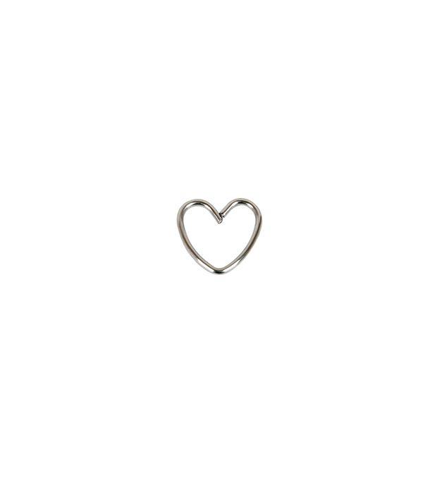Piercing acero corazón estrella x1u