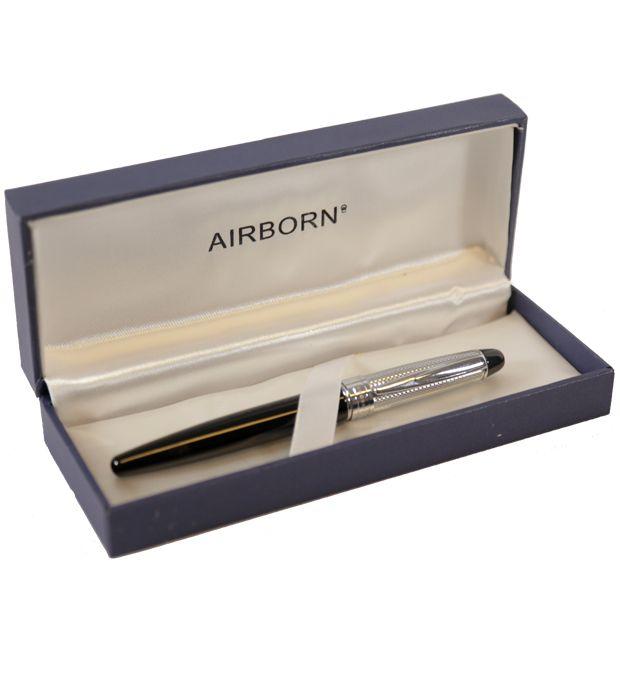 Lapicera con tapa en caja Airborn x1u