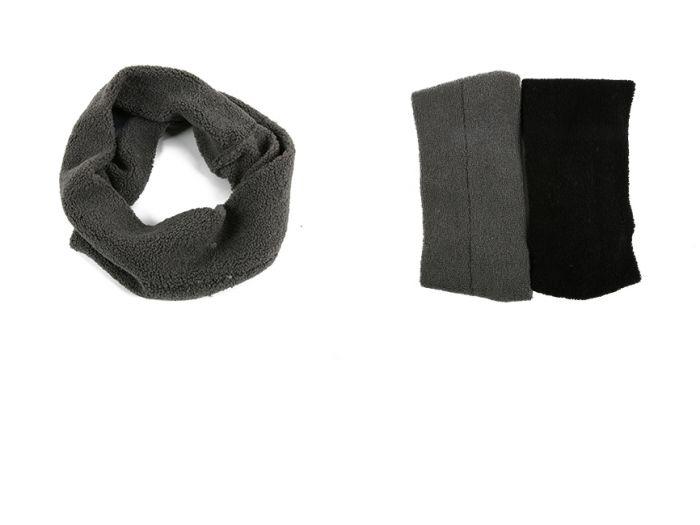 Cuello simple cruzado corderito 40x20 cm x1u