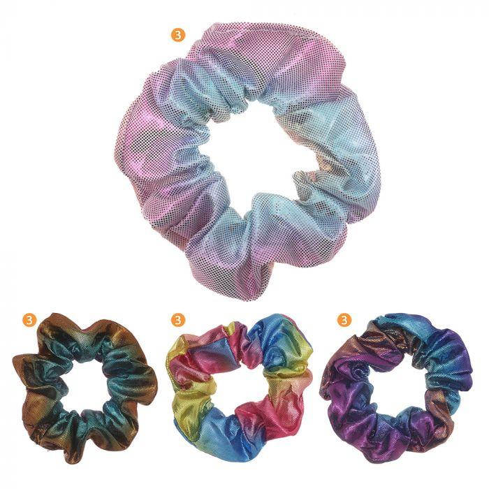 Scunzi tela holograma multicolor x1u