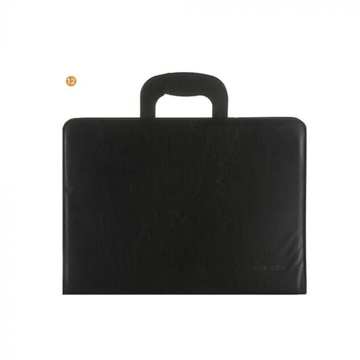Carpeta 36X35X3 Con Manija Rebatible X 12