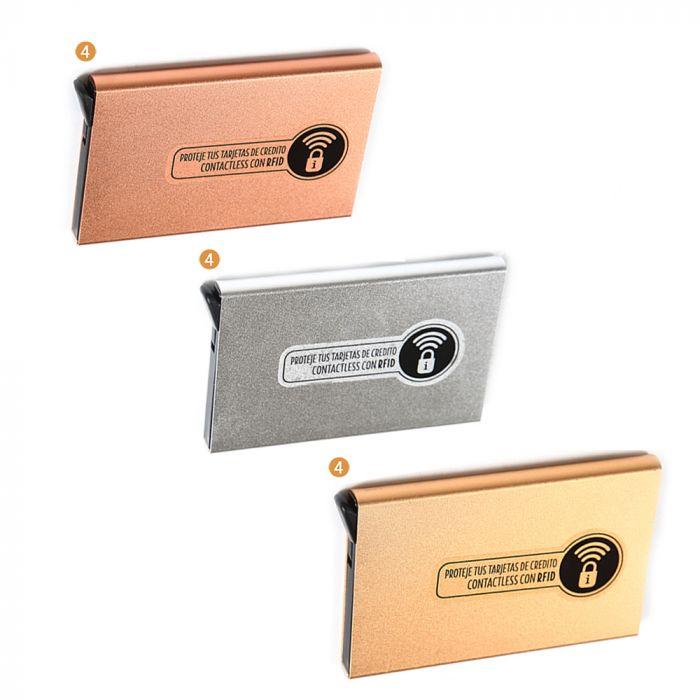 Tarjetero con tecnología RFID slim automático  x1u