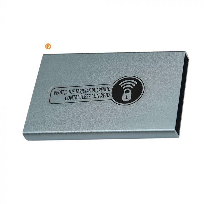 Tarjetero con tecnología RFID  x1u