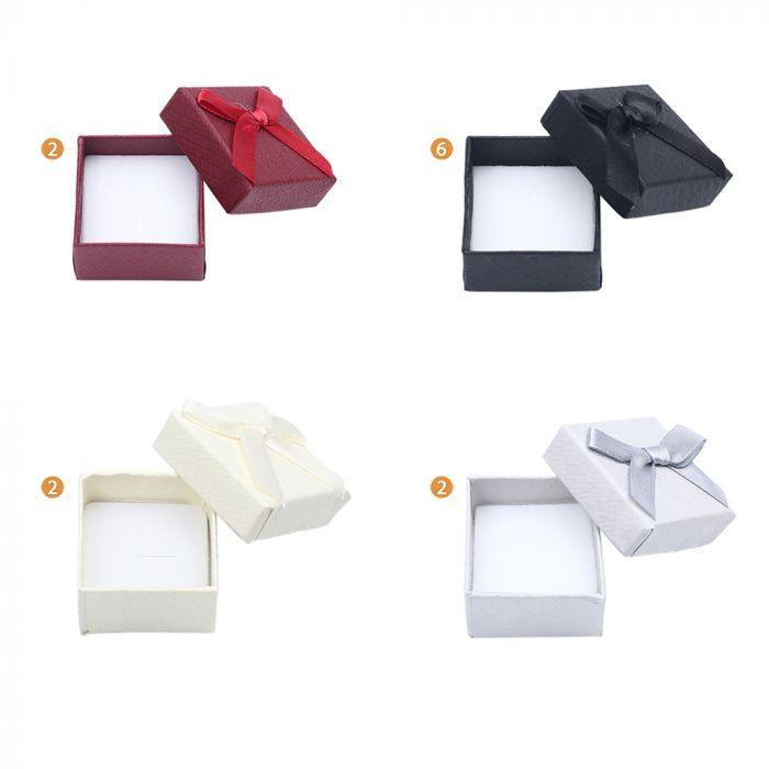 Caja para anillo 4x4  x1u