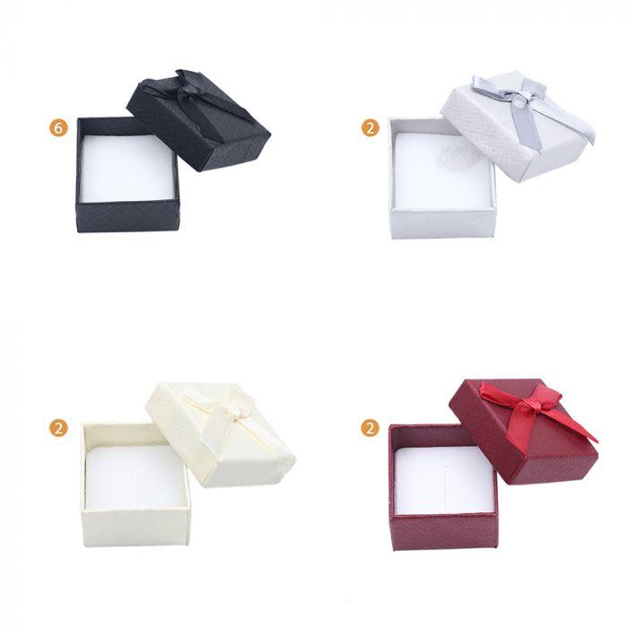 Caja para anillo 5x5 x1u
