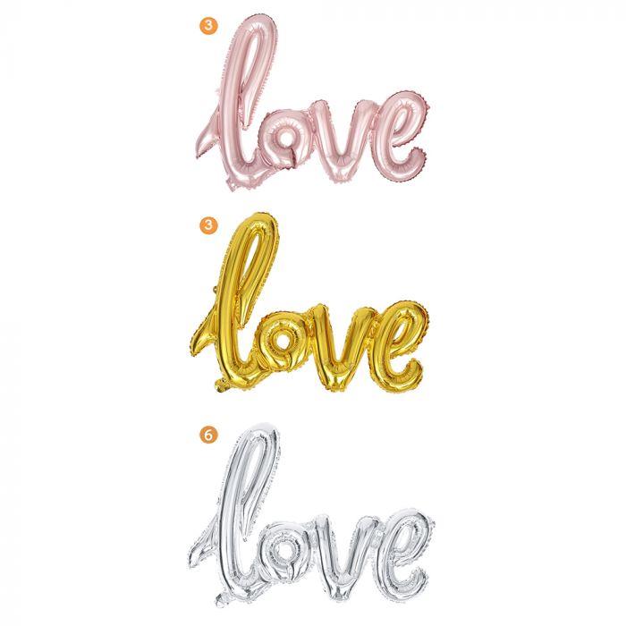 Globo Forma Love 40 x1u