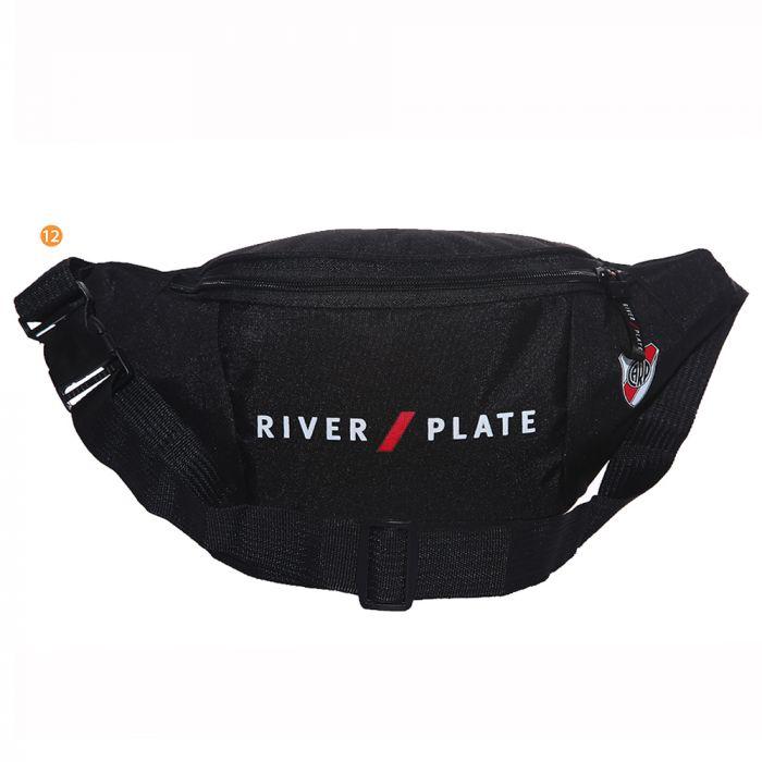 Riñonera River con escudo 36x16 cm x1u