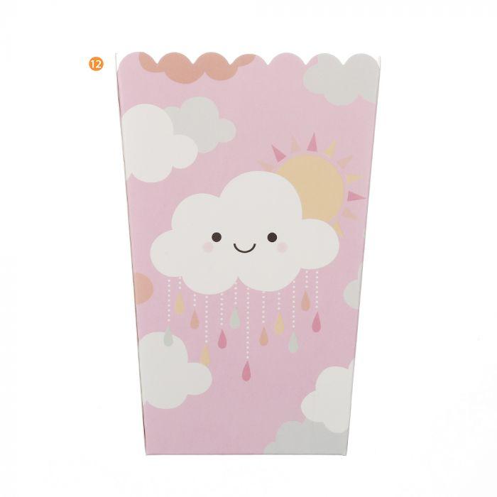 Bolsa de Cajas de Pochoclo nube x10u
