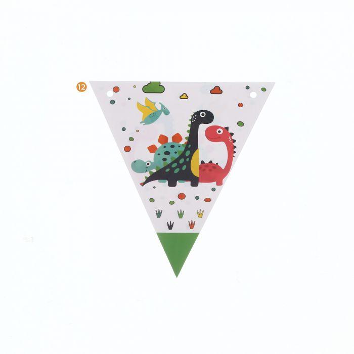 Banderines Dinosaurio x1u