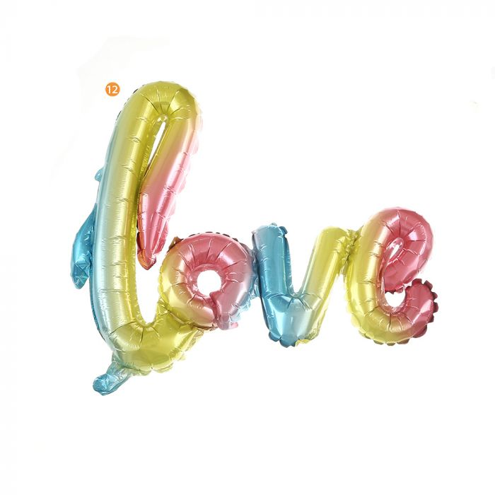 Globo forma Love degradee 40 pulg x1u