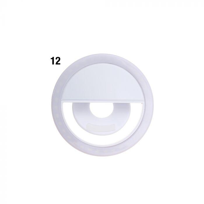 Luz led para celular blanco 8.5 cm x1u