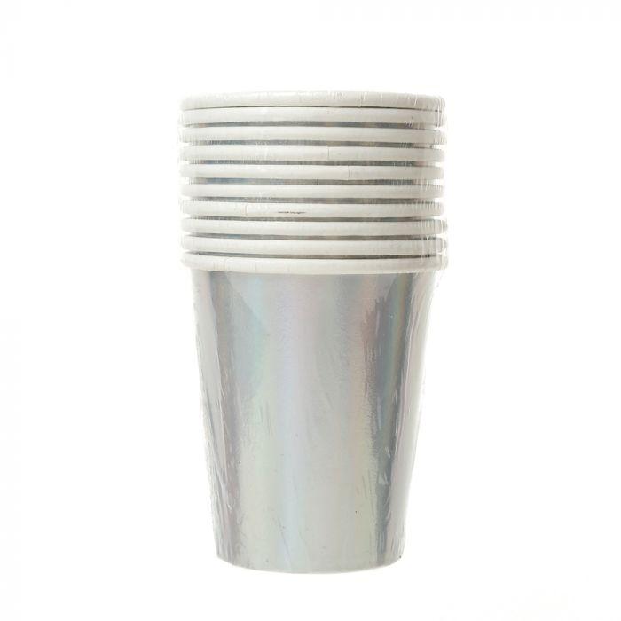 Set de vasos holograma x10u