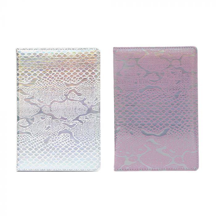 Cuaderno PU snake metalizado 80 hojas A5 x1u