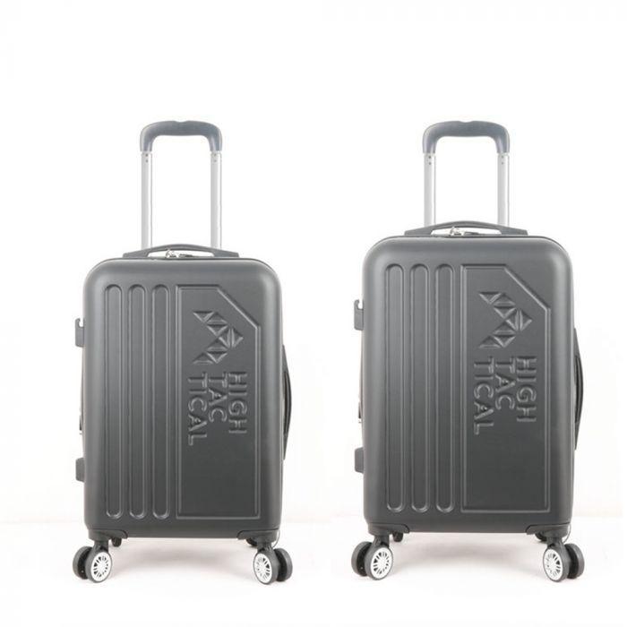 """Set valijas expandibles ABS tamaños 18""""+20"""" 4 ruedas dobles x2u"""