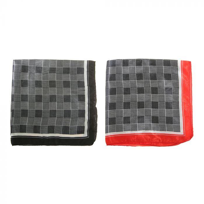 Pañuelo rasado 50x50 cm estampa cuadrille x1u