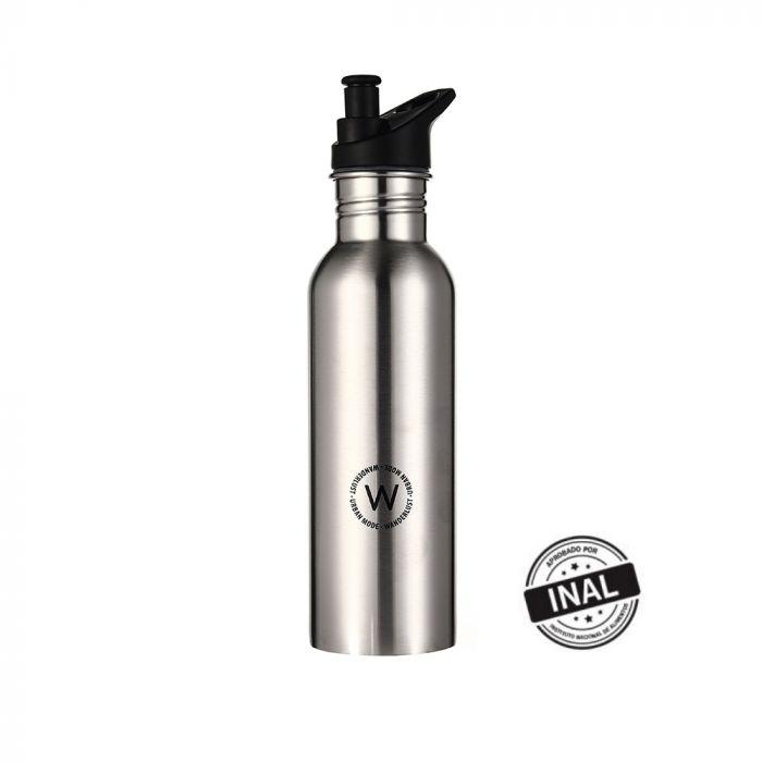 Botella con pico Acero Inoxidable 750 ml x1u