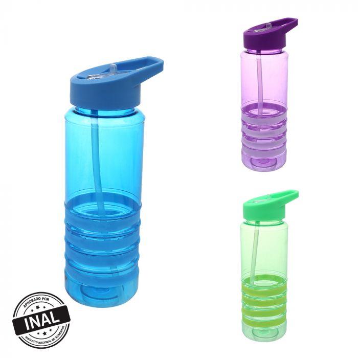 Botella con agarre silicona 700 ml x1u