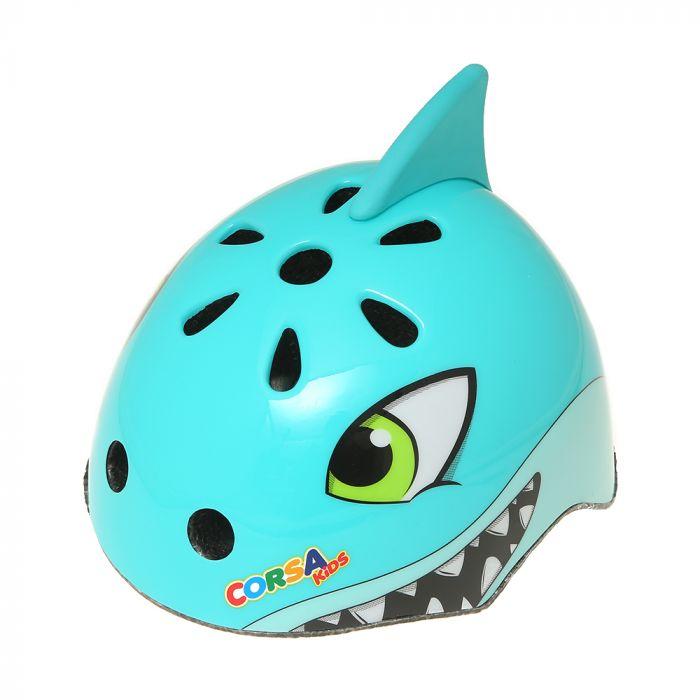 Casco infantil diseño tiburon x1u