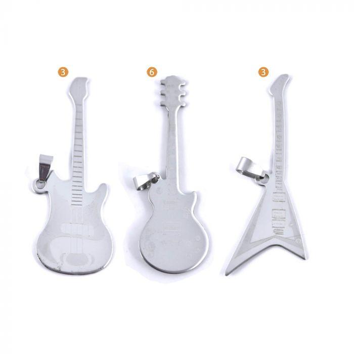 Dije guitarras 70 mm x1u
