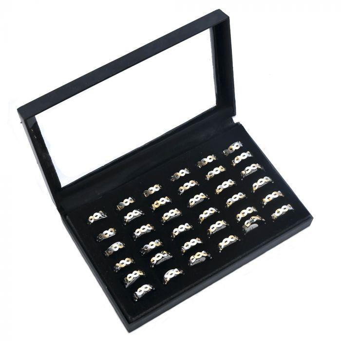 Caja anillo acero x36u
